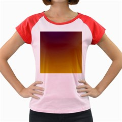 Course Colorful Pattern Abstract Women s Cap Sleeve T Shirt