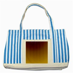 Course Colorful Pattern Abstract Striped Blue Tote Bag