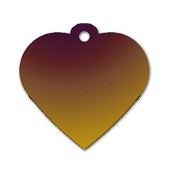 Course Colorful Pattern Abstract Dog Tag Heart (one Side)