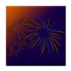 Sylvester New Year S Day Year Party Tile Coasters
