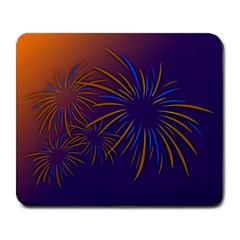 Sylvester New Year S Day Year Party Large Mousepads