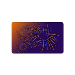 Sylvester New Year S Day Year Party Magnet (name Card)