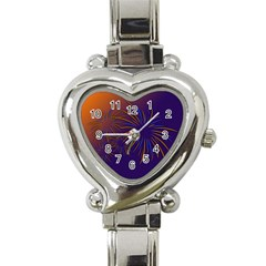 Sylvester New Year S Day Year Party Heart Italian Charm Watch
