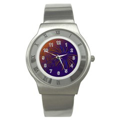 Sylvester New Year S Day Year Party Stainless Steel Watch