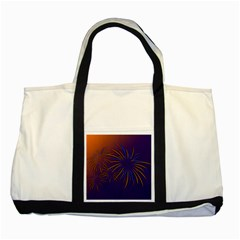 Sylvester New Year S Day Year Party Two Tone Tote Bag