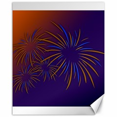 Sylvester New Year S Day Year Party Canvas 16  X 20