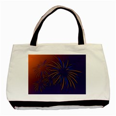 Sylvester New Year S Day Year Party Basic Tote Bag (two Sides)