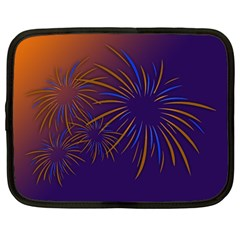 Sylvester New Year S Day Year Party Netbook Case (large)