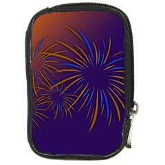 Sylvester New Year S Day Year Party Compact Camera Cases