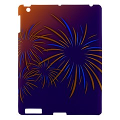 Sylvester New Year S Day Year Party Apple Ipad 3/4 Hardshell Case