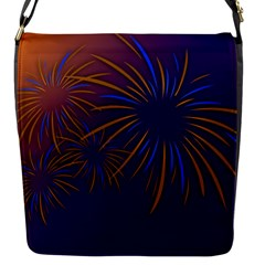 Sylvester New Year S Day Year Party Flap Messenger Bag (s)