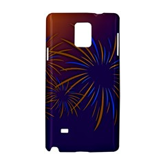 Sylvester New Year S Day Year Party Samsung Galaxy Note 4 Hardshell Case