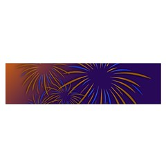 Sylvester New Year S Day Year Party Satin Scarf (oblong)