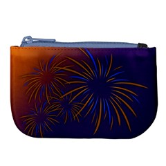 Sylvester New Year S Day Year Party Large Coin Purse