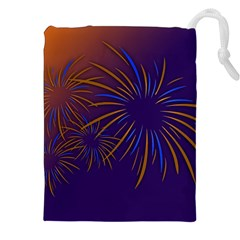 Sylvester New Year S Day Year Party Drawstring Pouches (xxl)