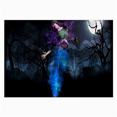Magical Fantasy Wild Darkness Mist Large Glasses Cloth