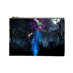 Magical Fantasy Wild Darkness Mist Cosmetic Bag (large)