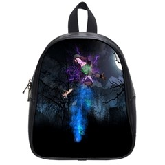 Magical Fantasy Wild Darkness Mist School Bag (small)