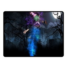 Magical Fantasy Wild Darkness Mist Fleece Blanket (small)
