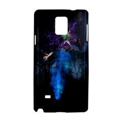 Magical Fantasy Wild Darkness Mist Samsung Galaxy Note 4 Hardshell Case