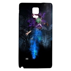 Magical Fantasy Wild Darkness Mist Galaxy Note 4 Back Case