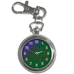 Sylvester New Year S Day Year Party Key Chain Watches