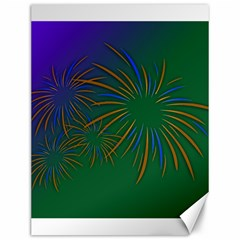 Sylvester New Year S Day Year Party Canvas 12  X 16