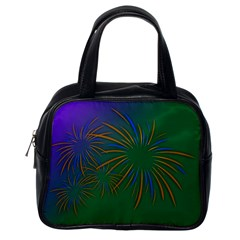 Sylvester New Year S Day Year Party Classic Handbags (one Side)