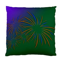 Sylvester New Year S Day Year Party Standard Cushion Case (two Sides)