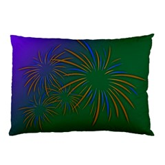 Sylvester New Year S Day Year Party Pillow Case