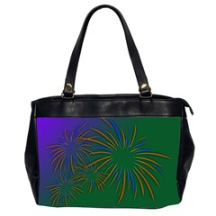 Sylvester New Year S Day Year Party Office Handbags (2 Sides)