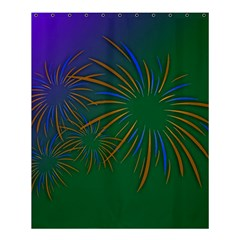 Sylvester New Year S Day Year Party Shower Curtain 60  X 72  (medium)