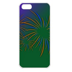 Sylvester New Year S Day Year Party Apple Iphone 5 Seamless Case (white)