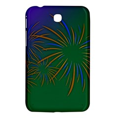 Sylvester New Year S Day Year Party Samsung Galaxy Tab 3 (7 ) P3200 Hardshell Case