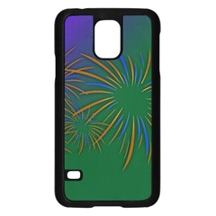 Sylvester New Year S Day Year Party Samsung Galaxy S5 Case (black)