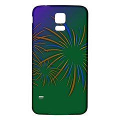 Sylvester New Year S Day Year Party Samsung Galaxy S5 Back Case (white)