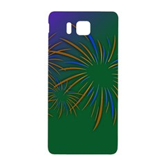 Sylvester New Year S Day Year Party Samsung Galaxy Alpha Hardshell Back Case