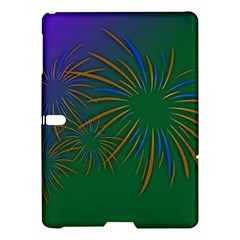 Sylvester New Year S Day Year Party Samsung Galaxy Tab S (10 5 ) Hardshell Case