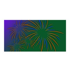 Sylvester New Year S Day Year Party Satin Wrap