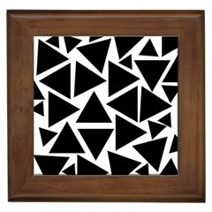Template Black Triangle Framed Tiles