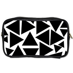 Template Black Triangle Toiletries Bags