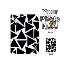 Template Black Triangle Playing Cards 54 (mini)