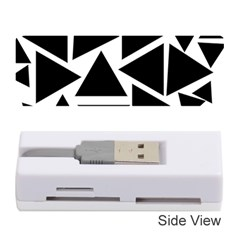 Template Black Triangle Memory Card Reader (stick)