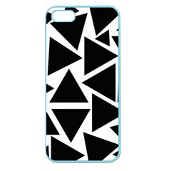 Template Black Triangle Apple Seamless Iphone 5 Case (color)