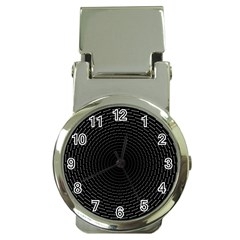 Q Tips Collage Space Money Clip Watches