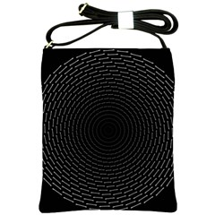 Q Tips Collage Space Shoulder Sling Bags