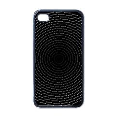 Q Tips Collage Space Apple Iphone 4 Case (black)
