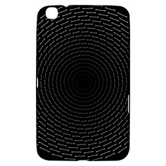 Q Tips Collage Space Samsung Galaxy Tab 3 (8 ) T3100 Hardshell Case