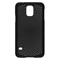 Q Tips Collage Space Samsung Galaxy S5 Case (black)