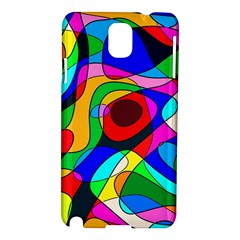 Digital Multicolor Colorful Curves Samsung Galaxy Note 3 N9005 Hardshell Case